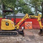 image of 303 CR mini hydraulic excavator